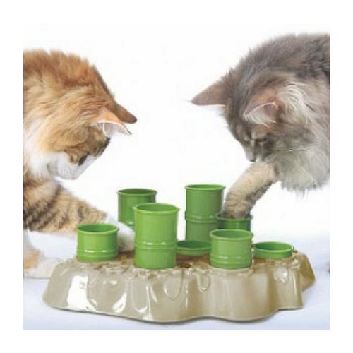 Distributeur croquettes chats