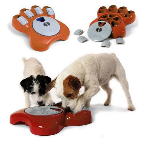 Distributeur croquettes chiens