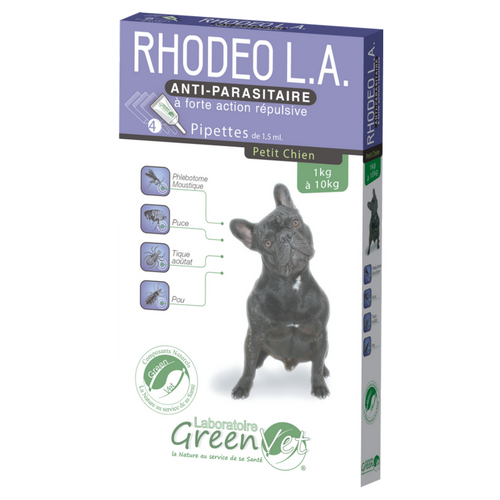 RHODEO Chien 1 à 5 kg pipette