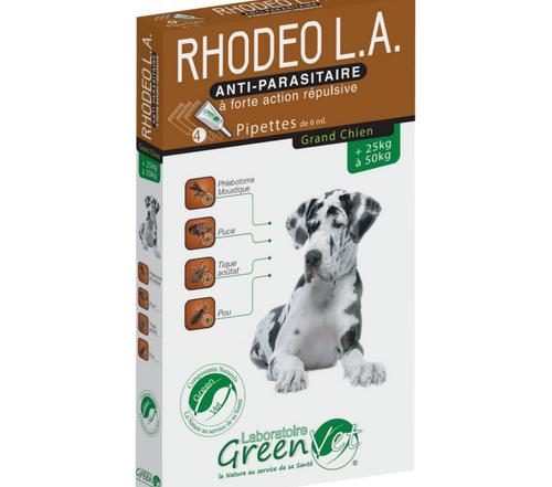 RHODEO chien 25-50 kg pipettes