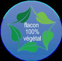 flacons PE végétal